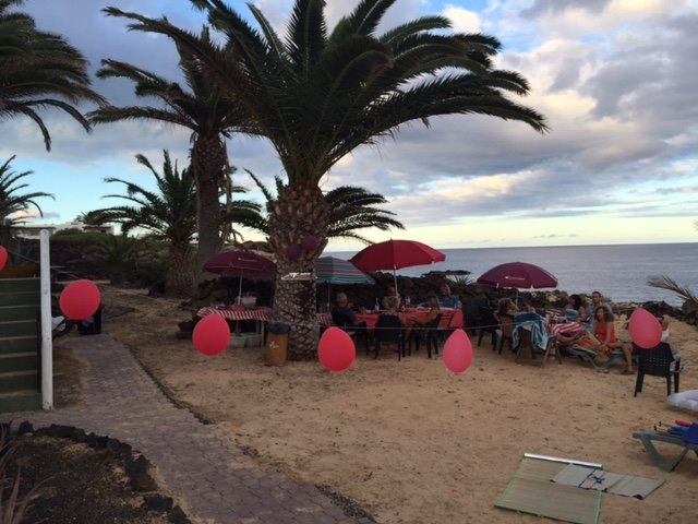 Beach Party in Charco del Palo