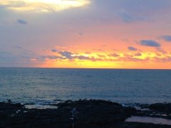 Sunset in El Golfo