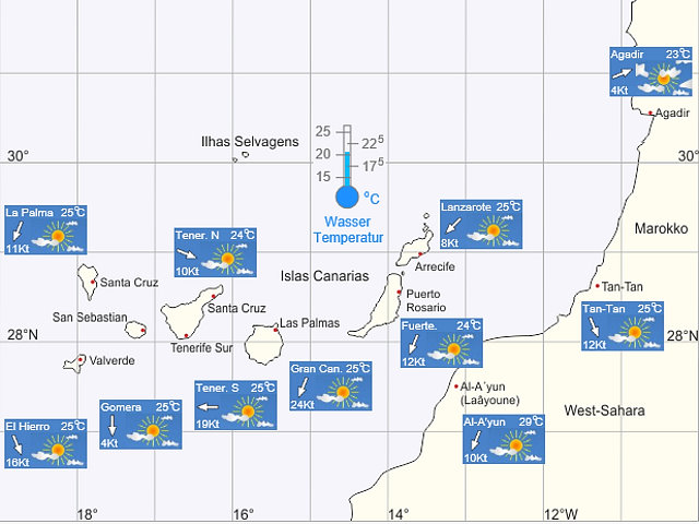 Weather Canary Islands